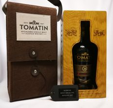 36 Years old Tomatin 46% abv.  Highland Single Malt Scotch Whisky - Small Batch bottles no. 0479