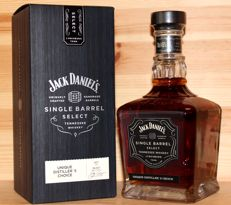 Jack Daniel's Unique Distiller's  Choice, Select Single Barrel Tennessee Rye Whiskey, 700ml/70cl, 45%vol