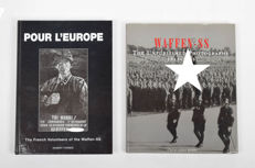 Militaria/WWII: Two books about the Waffen-SS - 2000