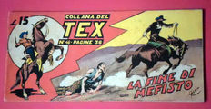 Tex strip I series no. 46 - first ed. not reprint (1948)