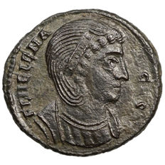 Roman Empire - HELENA (307-337) AE Follis, Siscia, SECURITAS