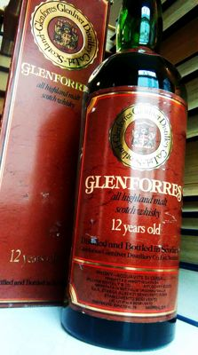 Glenforres-Glenlivet Distillery (Edradour) - 12 y.o. All Highland Malt Scotch Whisky - Bottled early 1980s