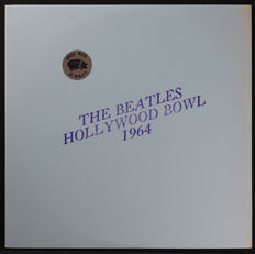 Beatles ‎- Hollywood Bowl (Rare Trade Mark Of Quality U.S Unofficial LP from 1973 with Red Vinyl As New)