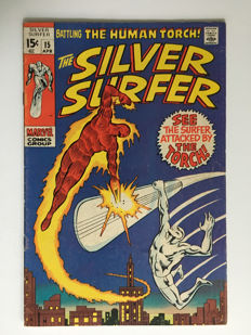 Marvel Comics - The Silver Surfer #15 - 1x sc - (1969)