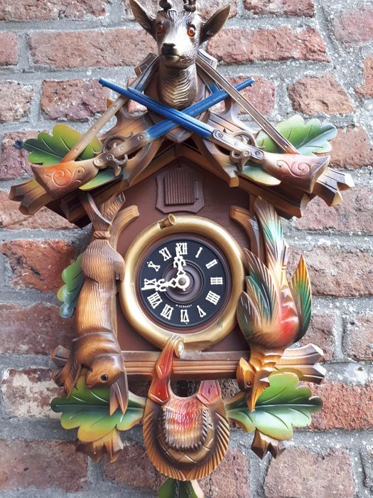 Cuckoo clock - 40 cm x 30 cm - West Germany ca 1980