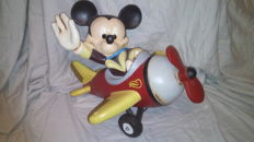 Disney - Figure - Mickey Mouse in Plane (c. 1980s)