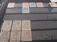 The Netherlands - Batch of various stampings, with rubber stamps among others.
