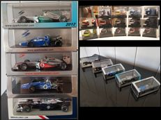 Spark / Onyx - Scale 1/43-1/12 - Lot of 5 models & 14 helmets