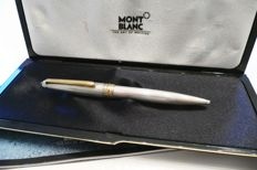 Montblanc ballpoint pen 164 grain solid 925 Sterling Silver Guilloche price new approx. €1200