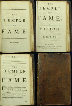 Alexander Pope - The Temple of Fame - 1715