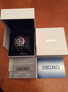 Seiko - SNZF15K1 automatic Pepsi Ring - reference number 7S3603C0 - men's - 2011-today