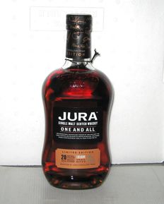 "Jura ""One and All"" 20 years old - 70cl - 51% - Limited Edition"