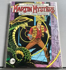 Martin Mystère no. 1 - First edition, not a reprint (1982)