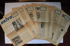Pre-debut; Jeroen Brouwers in Salvo - Lot with 7 issues - 1960 / 1961