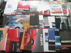 Car brochures (Honda, including CRX/Prelude/NSX, 28x, 1979-2005)