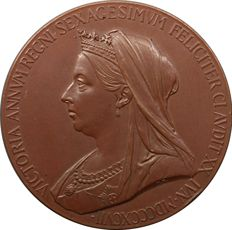 United Kingdom - Medal 'Victoria Diamond Jubilee 1837-1897' - bronze