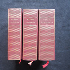 Collectif - Histoire Universelle - 3 volumes - 1956