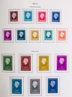 The Netherlands 1967/2008 – Collection in album and batch on stock cards