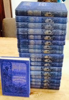 Adventure; Jules Verne - Wonderreizen - 18 volumes - 1974 / 1981