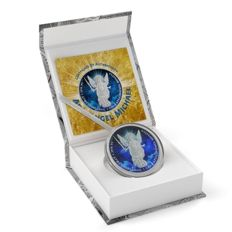Ukraine - 1 Grivna 2015 'Archangel Michael Night' - 1 oz silver