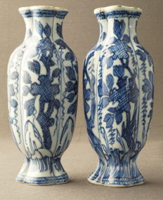 Baluster vases - China - around 1690, Kangxi period (1662-1722)