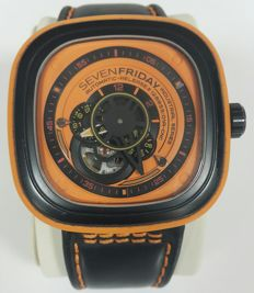 Sevenfriday - P1/03 Orange Industrial Series - SF-P1/03-A0308 - Men - 2000-2010