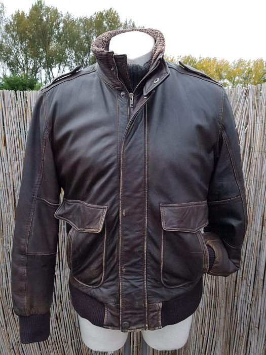 f0dedad8 Arma - Aviator jacket (used look) - Catawiki