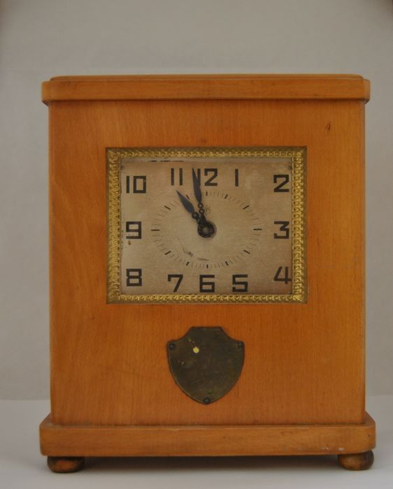 Desk Clock with Money Box - Junghans - 1910-1930
