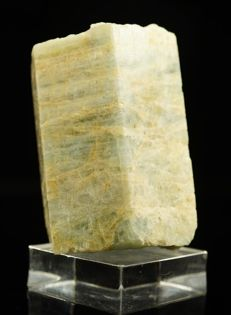 Beryl (Aquamarine) crystal - one time find in Poland - 5,0 x 3,2 x 2,8 cm - 102 gm