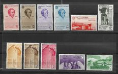 Kingdom of Italy 1935 - Centenary of the death of Bellini - Complete Ordinary Series and Airmail - Sass. No.  388-393 and A90-A94