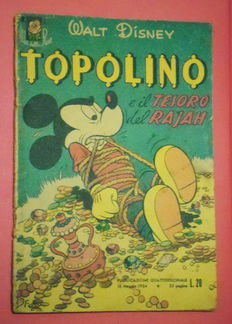 "Topolino - ""Albi della Rosa"" no. 1 - first ed. not reprint (1954)"