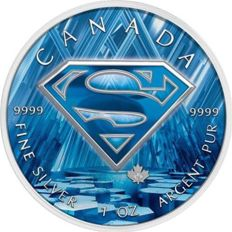 Canada - 5 Dollars 2016 'Superman Fortress of Solitude' - 1 oz silver