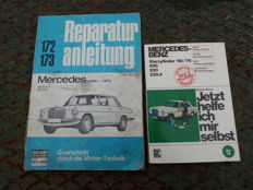 Mercedes-Benz  /8  Repair manual and book to repair yourself