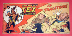 Tex strip I series no. 49 - first ed. not reprint (1948)