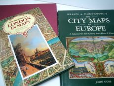 Reference works; The History of London in Maps / Braun & Hogenberg's The City Maps of Europe / Wien in Bild Historischer Karten - 1983/1990/1991