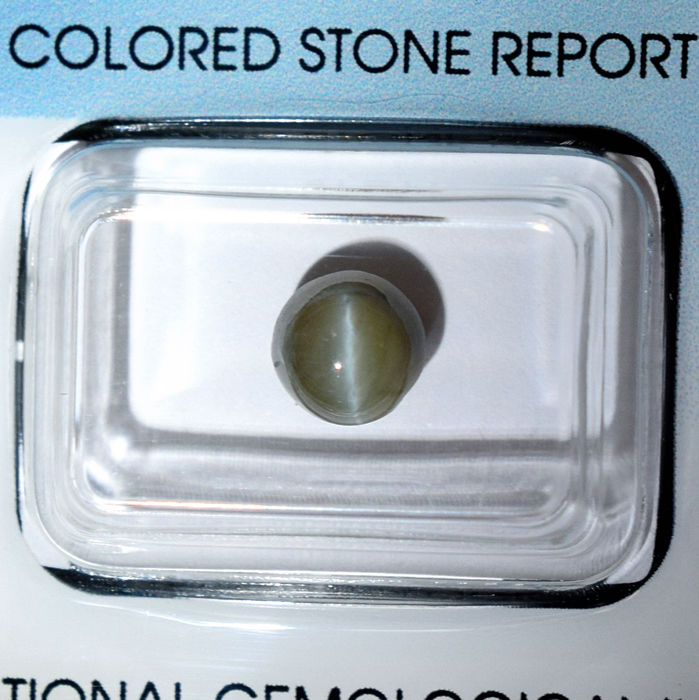 Chrysoberyl Cat's Eye – 2.67 ct