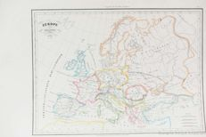 Europe; C. Malte-brun - Europe Ancienne - 1833