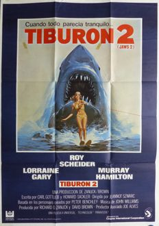 Anonymous - Tiburon 2 (Jaws 2, Roy Scheider) - 1978
