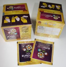 Panini - Euro Poland & Ukraine 2012 - 2 original unopened boxes + 2 extra loose packets - In factory seal