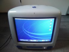 Apple iMac DV Indigo - model M5521, from 2001 - 500Mhz G3, 768MB RAM, 40GB HDD, MacOS X
