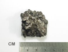Campo del Cielo iron meteorite, with moveable section - Octahedrite IVA - 37.0 x 31.2 x 17.6 mm - 49.95 g