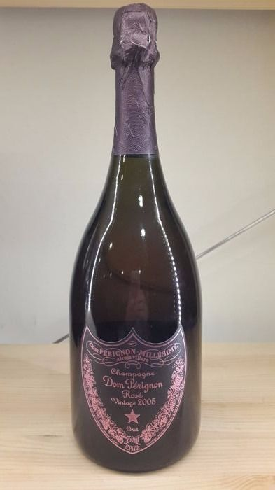 2005 Dom Perignon Rose, Champagne - 1 bottle (750ml)