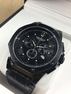 Cornavin Black chronograph Limited Edition 1177/9999 – men's watch