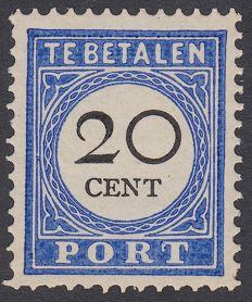 Netherlands 1894 - Postage due - NVPH P25a