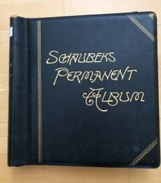 Austria - 1851 to 1979 - advanced collection with classic and German Empire issues in old Schaubek permanent albums