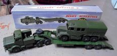 Dinky Supertoys - Scale 1/48 - Tank Transporter No.660 and Medium Artillery Tractor No.689