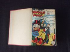 Donald Duck weekly magazine - Year 1958 - Bound in 1 leatherette binding - hc - (1958)