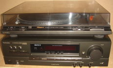 Technics Receiver Type: SA-EX140 + turntable SL BD22D
