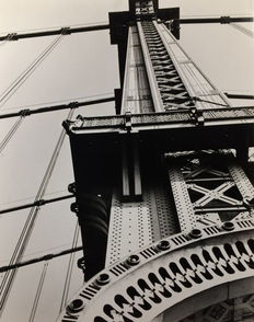 Berenice Annott (1898-1991) - 'Manhattan Bridge', 1936