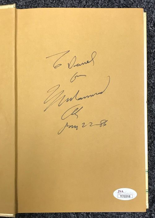 Hardback Book Prayer and Al-Islam signed by boxing legend Muhammad Ali with JSA certificate